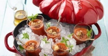 Staub Cast Iron 3-qt Tomato Cocotte