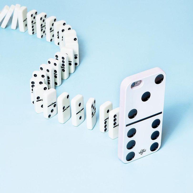 Domino 3D iPhone Case