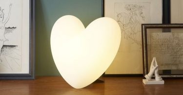 Love Table Light by Slide