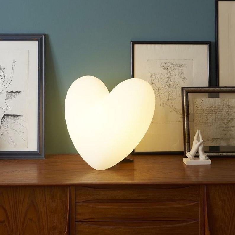 Love Table Light by Slide