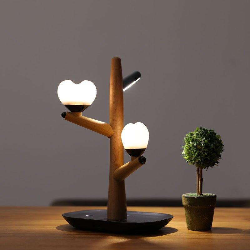 Tree Lamp Table