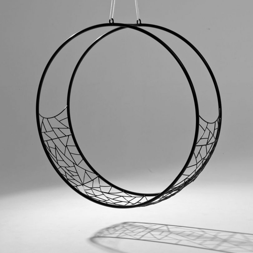 Hanging Wheel Swing Chair from Studio Stirling