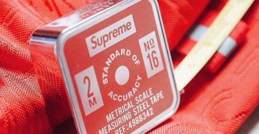 Supreme x Penco Tape Measure Red