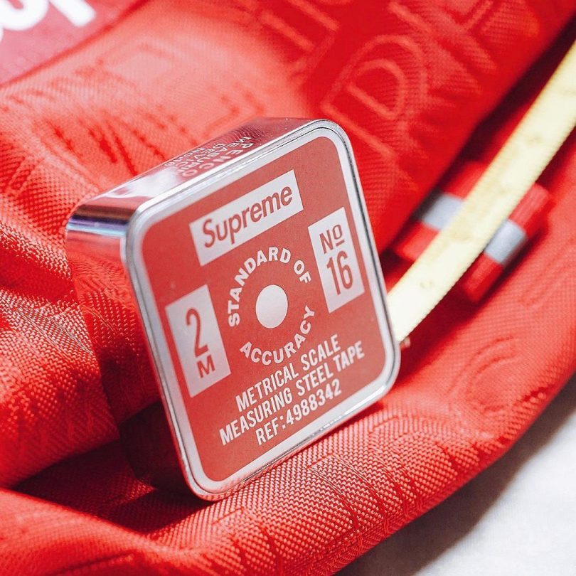 Supreme x Penco Tape Measure Red