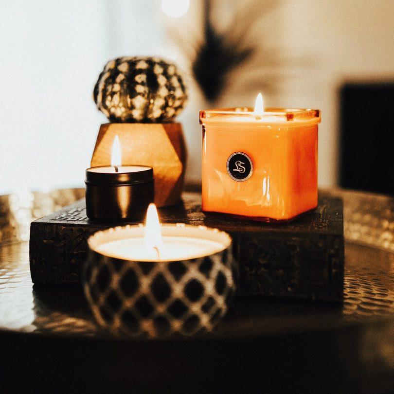 Orange & Chili Pepper Soy Candle