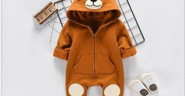 Cute Animal Bear Baby Onesie