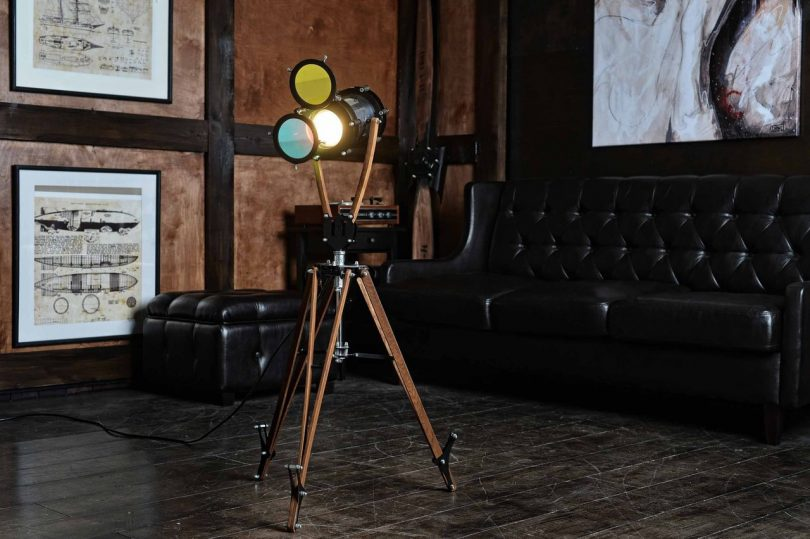 Industrial Design Floor Lamp Loft Decor