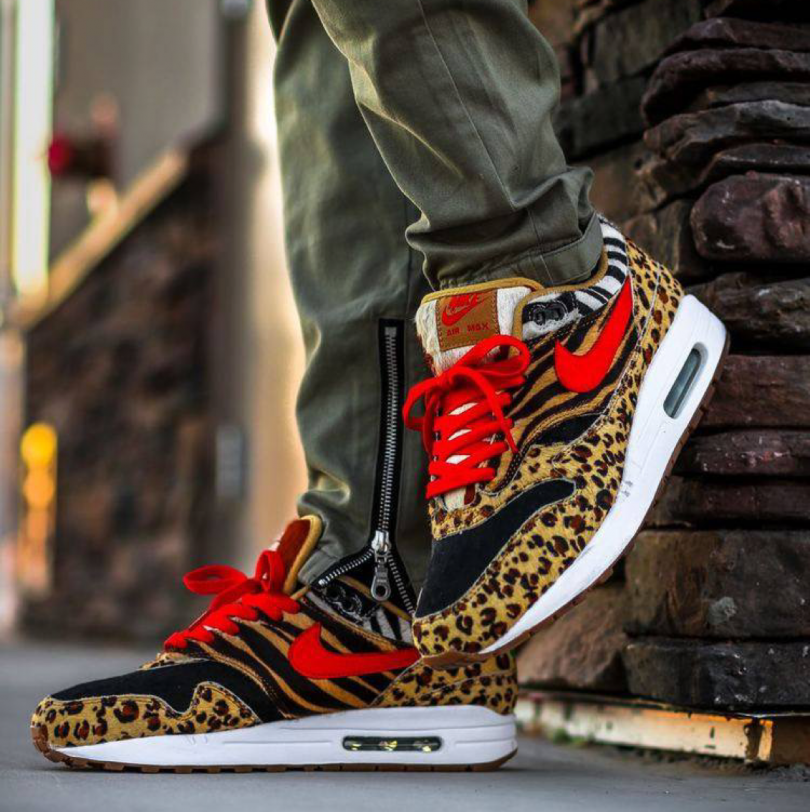 Nike x Atmos Air Max 1 DLX Animal Pack