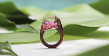 Snow Meadow Botanist Ring