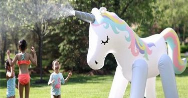 Outdoor Unicorn Sprinkler