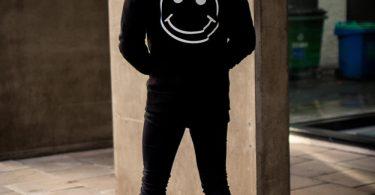 Acid Party Shock – Pullover Hood – Black