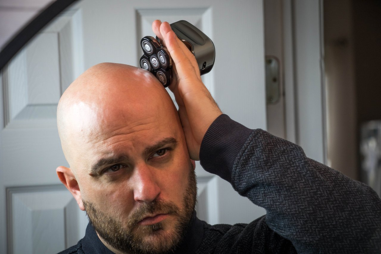 Skull Shaver Pitbull Platinum Electric Head Razor