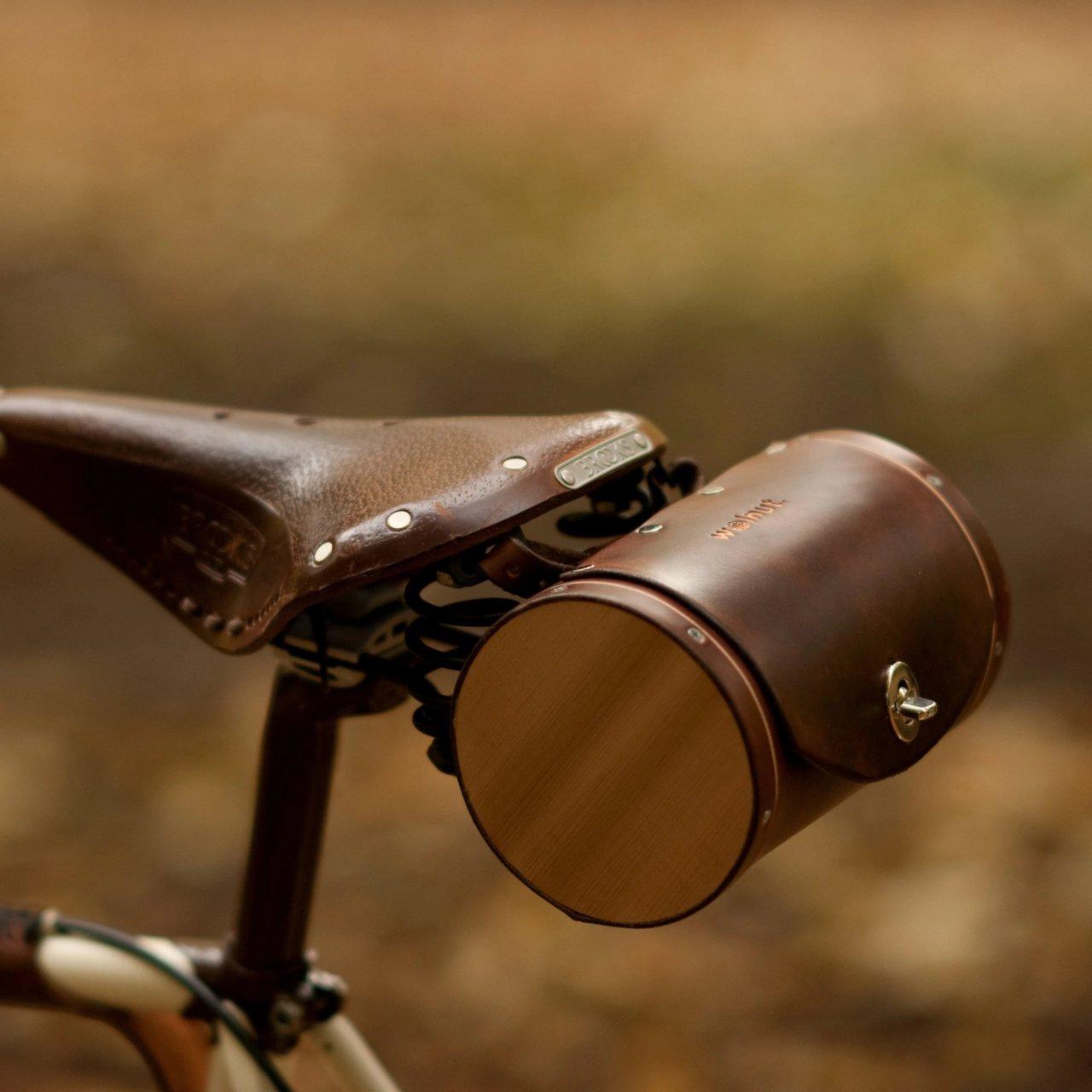 Bicycle Barrel Bag for Saddles