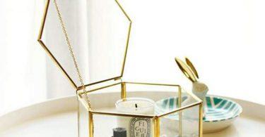 m·kvfa Nordic Hexagonal Geometric Transparent Glass