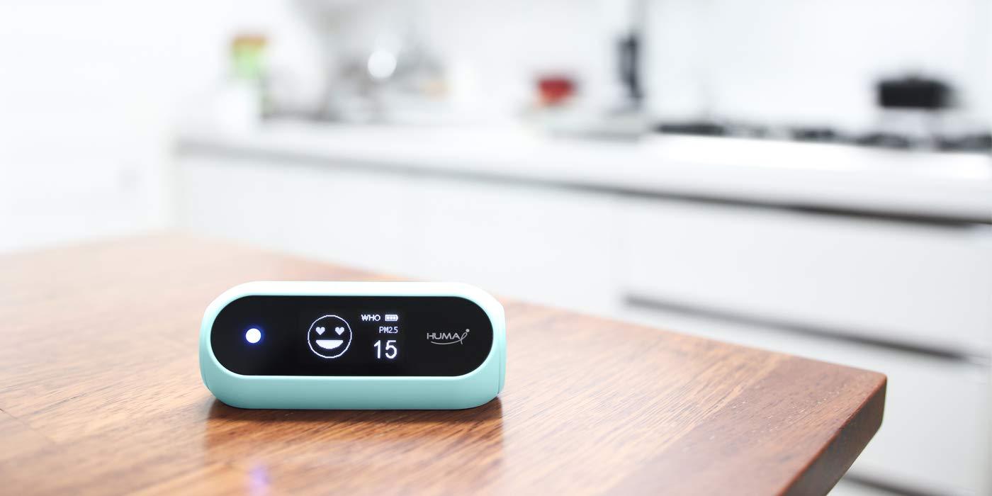 Huma-i (HI-120), Advanced Portable Indoor/Outdoor Air Quality Monitor