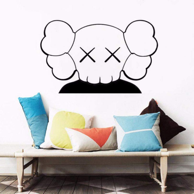 EASTONE KAWS Art Wall Sticker