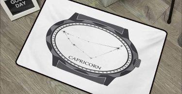 Interior Door mat W35 x L59 INCH Zodiac Capricorn