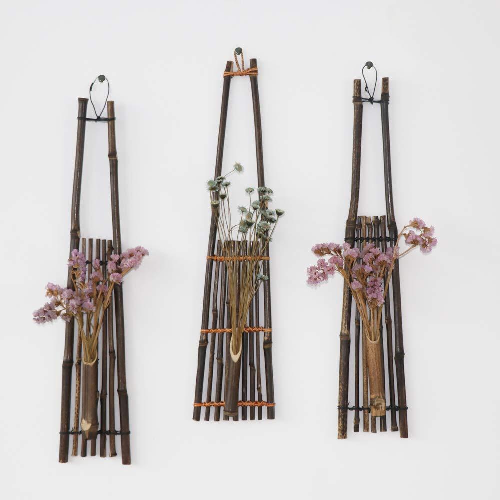 Wood Shelf Vases