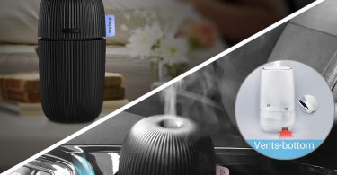 EasyAcc USB Car Essential Oil Diffuser 110ml Cup Shape Humidifier Aroma Diffuser