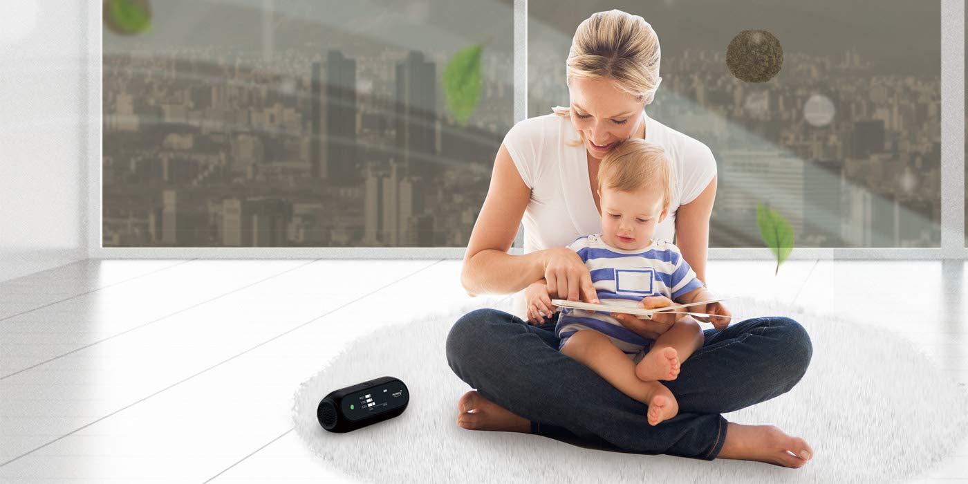 Huma-i (HI-150), Advanced Portable Indoor/Outdoor Air Quality Monitor