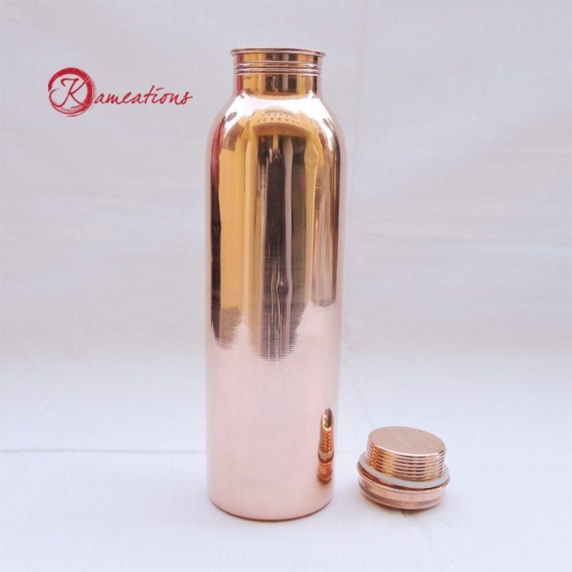 kameations Copper Yoga Water Bottle