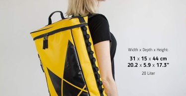 The Friendly Swede Sporty Top Load Backpack