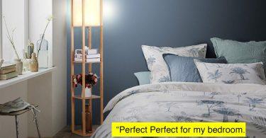 Brightech Maxwell – LED Shelf Floor Lamp