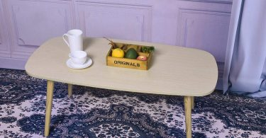 Clement Attlee Nordic Minimalist Modern Small and Medium-Sized Wooden Coffee Table