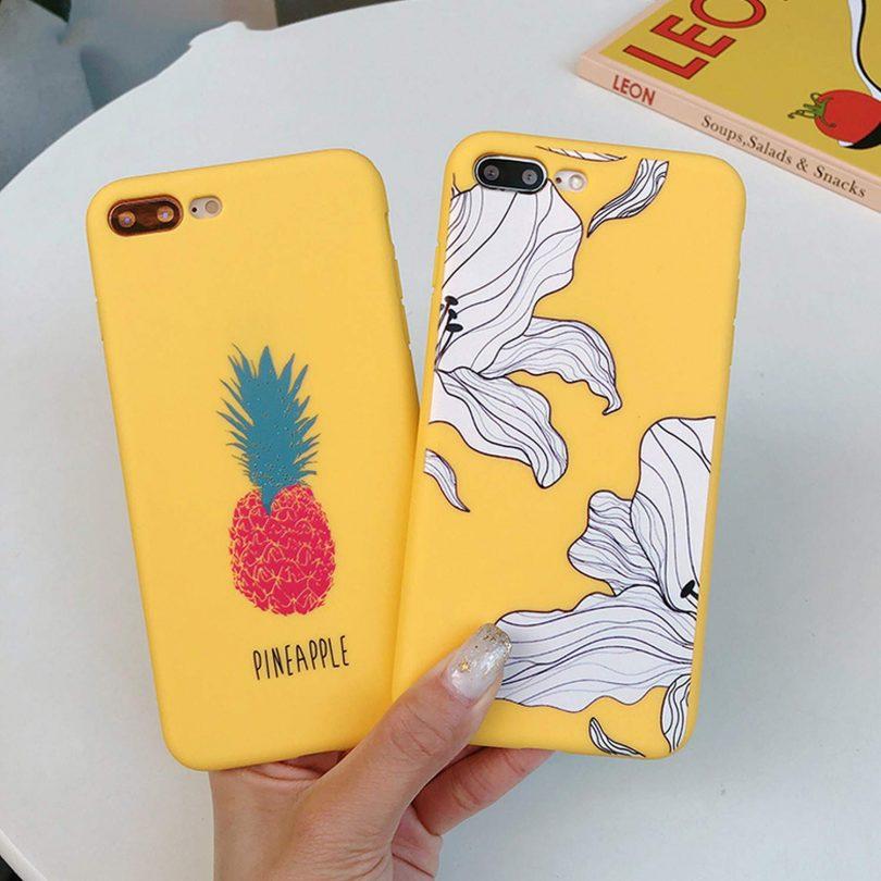 Cartoon Giraffe Phone Case for for iPhone X