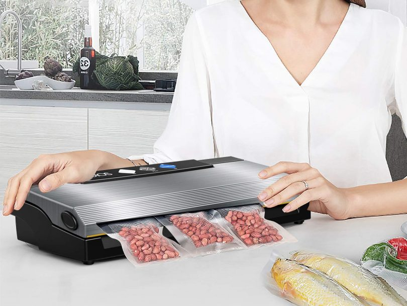 KOIOS Vacuum Sealer 80Kpa Vacuum Sealing System with Cutter