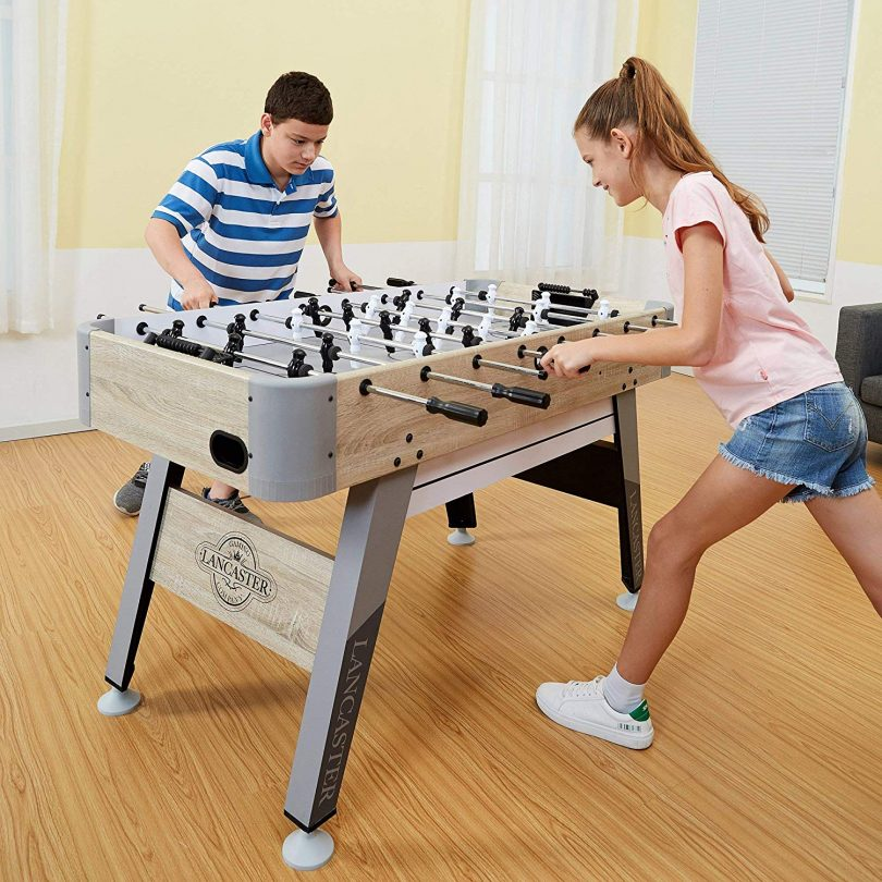 Lancaster Inch Arcade Style Fooosball Table