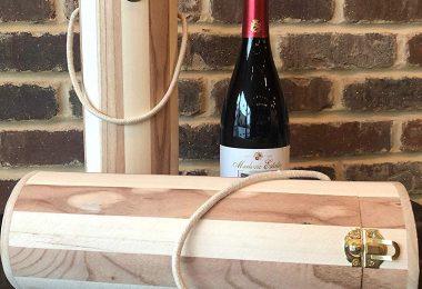 Pro Image Wine Natural Wood Gift Box