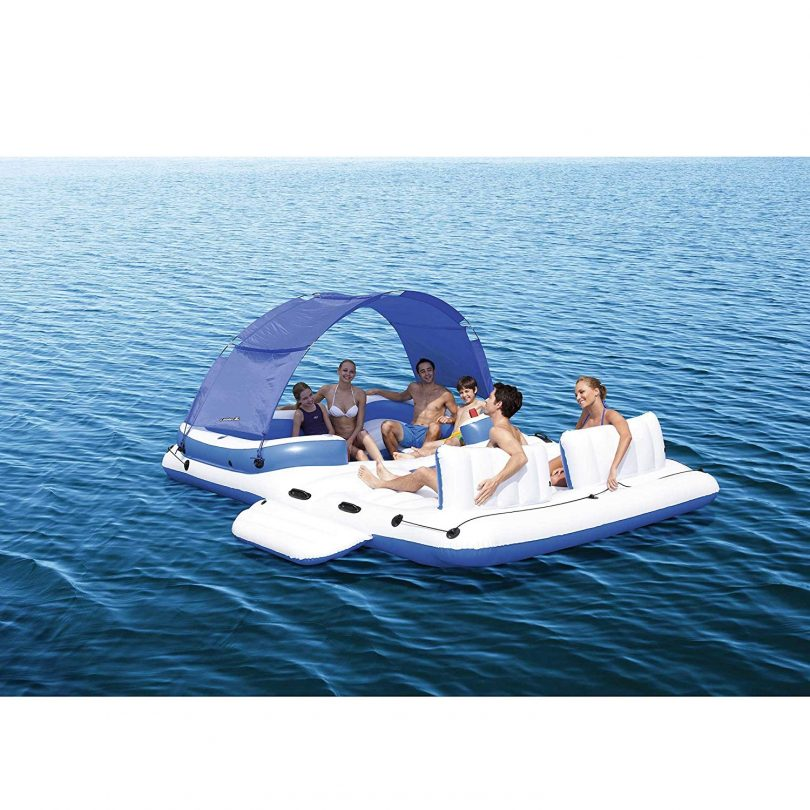 Bestway CoolerZ Tropical Breeze 6 Person Floating Island