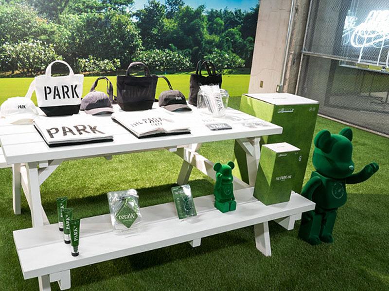 BE @ RBRICK fragment design THE PARK