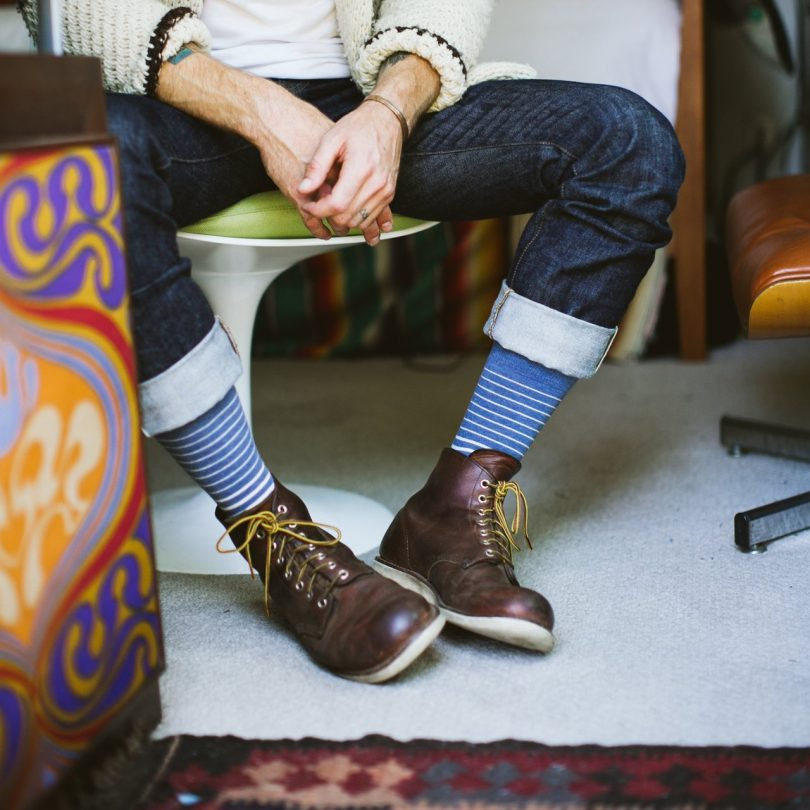 Accent Crew Socks by Strollegant