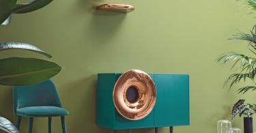 Caruso Gramophone Music Cabinet