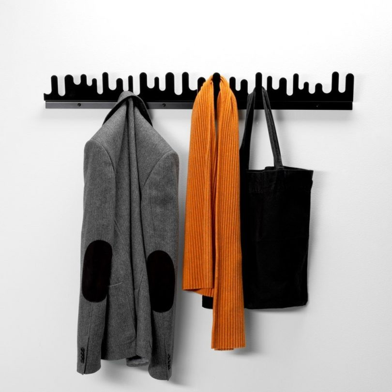 Wave Hanger Black – Design House Stockholm