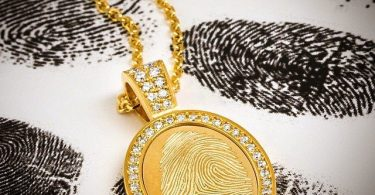 Fingerprint Pendant | | Jason of Beverly Hills