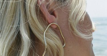 Aalto Outline Large Earring