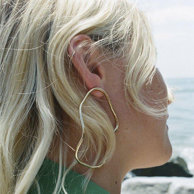 Aalto Outline Large Earring