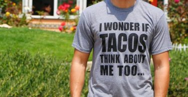 Wonder If Tacos Think About Me Too T-shirt