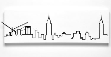 Skyline New York Wall Clock by Progetti