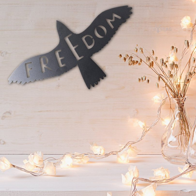Freedom Metal Wall Decor