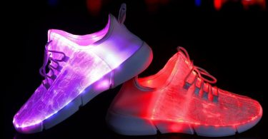 Shinmax Fiber Optic LED Shoes