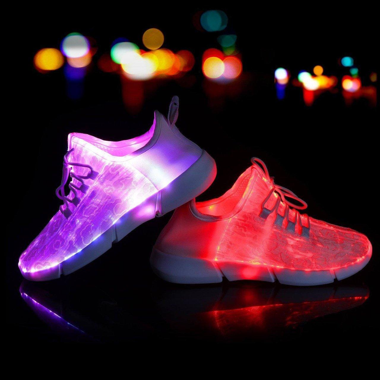 Shinmax Fiber Optic LED Shoes