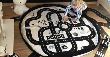 Cartoon Road Baby Play Mats