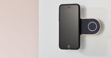 iPhone Wall Mount + Case Bundle