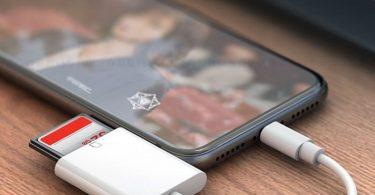 SD Card Lightning Adapter