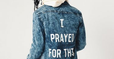 Prayed Denim Button-Up Shirt