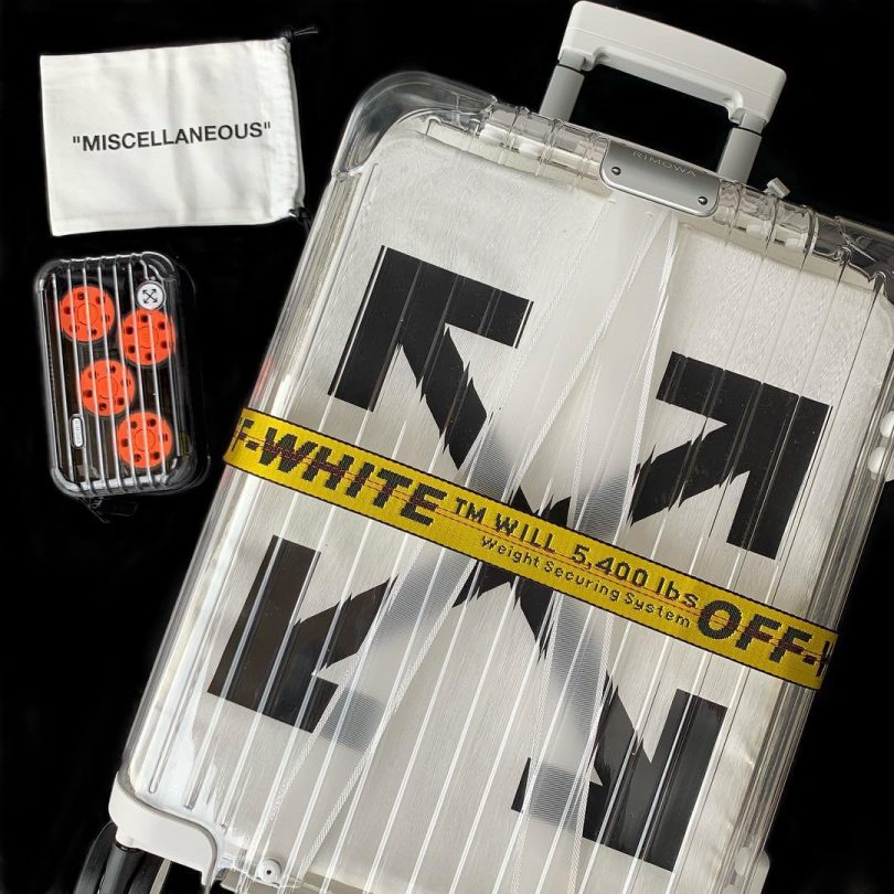 Off White Rimowa See Through Case White